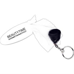 Microfiber Screen Cleaner Keychain
