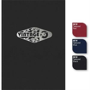 "Perfectvalue (tm) - New Valueline 7"" X 10"" Large Perfect-bound Journal With One-color Foil Imprint"