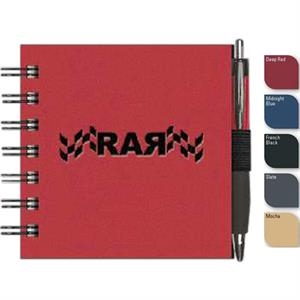 "Expresssquare (tm) - New Valueline 4"" X 4"" Square Notebook With Penport, Pen, Black Wire Binding"