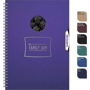 "Spindowpad (tm) - 7"" X 10"" Large Journal With Die Cut Window"