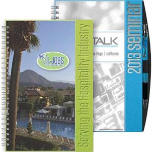 "Eventplanner (tm) - 5.5"" X 8.5"" Small Event Planner Journal With Dual Cover Design, 70 Sheets Paper"