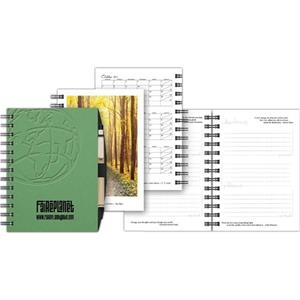 "Goaltracker (tm) - 5"" X 7"" Personal Notebook With 100 Sheets Of Goal-themed Paper"
