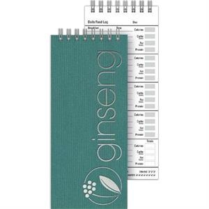 "Healthjournal (tm) - 3"" X 7"" Small Practical Journal For Health Junkies On The Go Include 70 Sheets Paper"