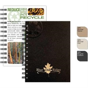 "Recycletips (tm) - 5"" X 7"" Small Recycling Guide Made Recycled Components, 100 Sheets Eco-filler"