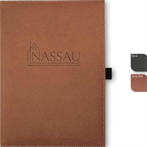 "Vicenzajournal (tm) - 7"" X 9.75"" Textured, Thread-sewn, Faux Leather Cover Journal, 96 Sheets Paper"