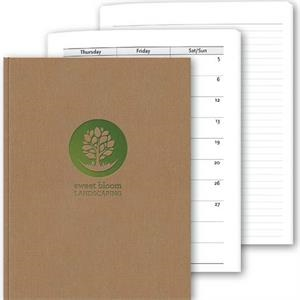 "Perfectbook (tm) - 8.5"" X 11"" Perfect-bound, Textured Linen Planner & Journal"