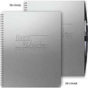 "The Director (tm) - 8.5"" X 11"" Alloy Front/chip Back Director (tm) Vertical Monthly Planner"