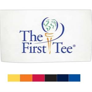 "Turkish Signature (tm) - Embroidery On White Towel - Golf Towel. Caddy Towel, 20"" X 34"""