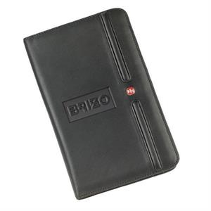Soft-leather Card File Organizes Up To 120 Business Cards