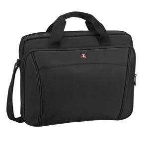 "Integer - Compact Slimcase With A Padded Compartment For Either A Tablet Or 16"" Laptop"