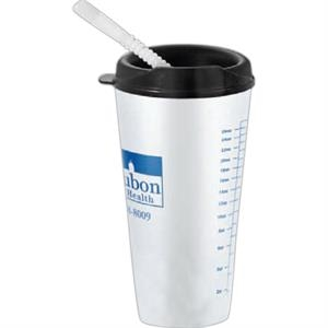 "Flare - 32 Oz. Tumbler With Lid, 7.25"" Tall"