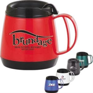 Deluxe - Wide Body 20 Oz. Mug With Skid Resistant Base