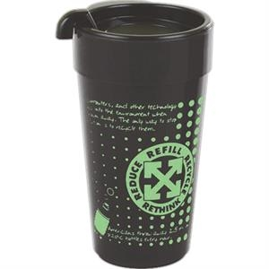 12 Oz. Travel Tumbler Made From Recycled Material