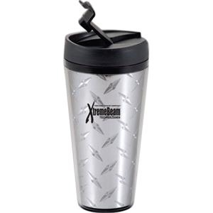 Voyager - Insulated 16 Oz. Tumbler With Spill-proof Flip-top Lid