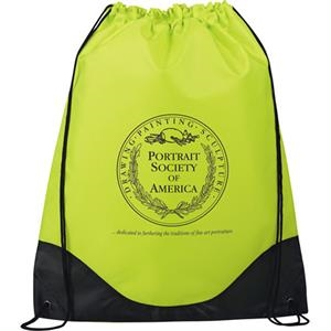 Cruz - Drawstring Cinch Bag Made Of 210d Polyester