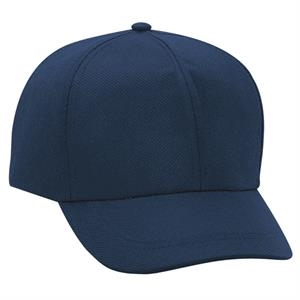 100% Non-woven Polypropylene Solid Color Six Panel Low Profile Pro Style Cap. Blank