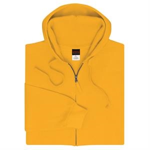 Colors 2 X L - 70% Cotton, 30% Polyester 8 Oz. Full-zip Hoodie Sweatshirt. Blank