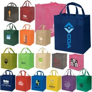 Eco-responsible (tm) Enviro-shopper - Non Woven Reusable 100 Gsm Tote Bag, An Eco-responsible (tm) Product