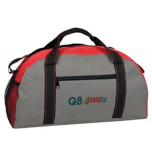 Poly Duffel Bag With Vinyl Backing