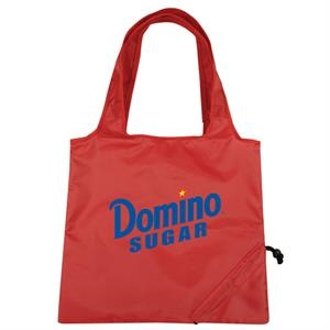 Foldable Tote Bag With Pu Coating