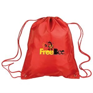 Polyester Drawstring Tote Bag Made Of Polyester With Polyurethane Coating