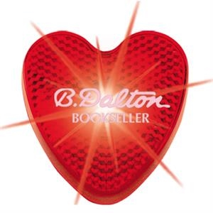 Heart - Bright Blinking Red Led Strobe Light With 200 Hours Of Flashing Light