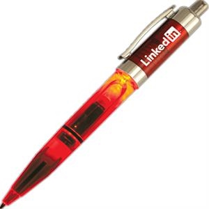 Economy - Red - Lighted Standard Pen