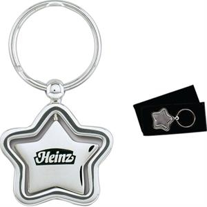 Star Spinner Metal Key Holder