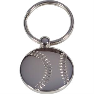 Baseball - Metal Key Holder. Perfect For Sports Fans