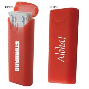 The Relief - Adhesive Bandage Pocket Fit Packaged In Red Hard Plastic Case