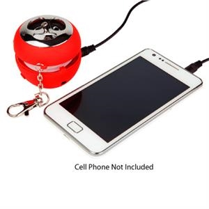 Mini-thunder - Red - Pop Up Audio Speaker Is Perfect For Portable Electronics