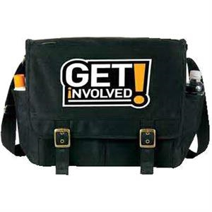 Egreen - Messenger Bag: 180g Pet, Recycled From Plastic Bottles. While Supplies Last