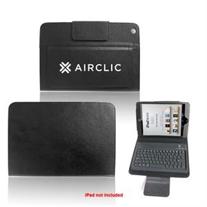 Wireless Bluetooth Keyboard With Leather Case & Stand For Ipad Mini