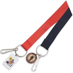 "Rectangle - 36"" Lanyard With Dangler And Neck Breakaway"