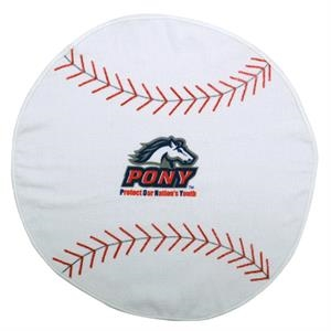 7 Working Days - Printed - Baseball - Sport Ball Towel With Stock Designs