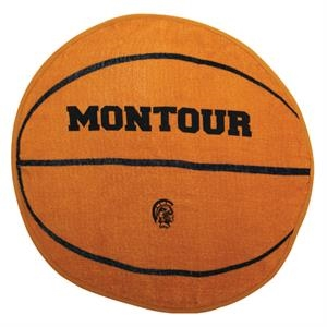 7 Working Days - Printed - Basketball - Sport Ball Towel With Stock Designs