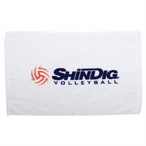 "3 Working Days - Cotton Terry Loop Fingertip Sport/stadium Hemmed Towel, 11"" X 17"""