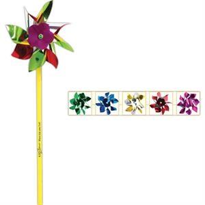 "4\"" Multi-Color Pinwheel"
