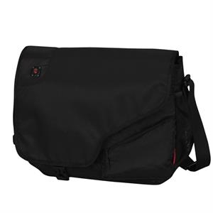 Alpine (tm) Collection;regent - Laptop Messenger Bag With Fully Padded Laptop Compartment With Storage Space