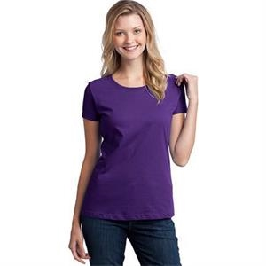 Fruit Of The Loom (r) - S- X L Heathers - Ladies' Heavy 100% Cotton T-shirt With Tag-free Label