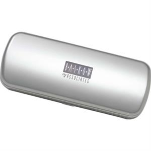 Hard Silver Amenity Container