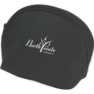 Microfiber Amenity Or Cosmetic Bag With Inside Pockets