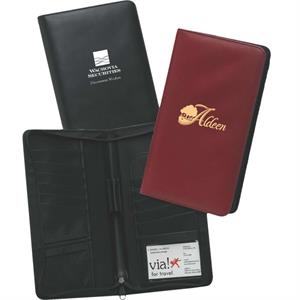 Synthetic Leather Ticket Wallet