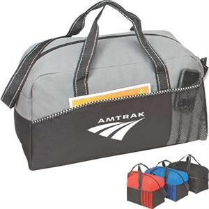 Eagle - Sports Duffel Bag Made With 600 Denier Polyester And Pvc Backing