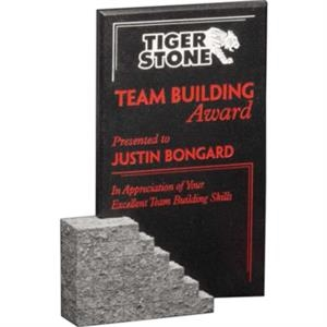 "Cornerstone Stoneridge Gallery - Award Made Of Cultured Stone, 7"" X 9 3/4"" X 1 1/2"""