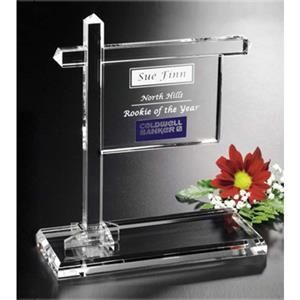 Distinctive Gift Gallery - Optical Crystal Real Estate Sign Award