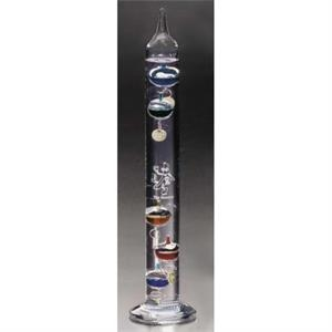 "Galileo Distinctive Gift Gallery - 1 1/4"" X 11"" - Glass Thermometer"