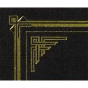 Certificate Gallery - Black-gold - Linen Certificate Holder