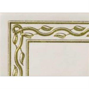 Certificate Gallery - Serpentine Gold - Certificate Made Of Paper 28 Lb Bond