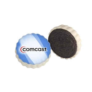 Oreo (r) - Sandwich Cookie Covered With White Chocolate. Full Color Logo Included
